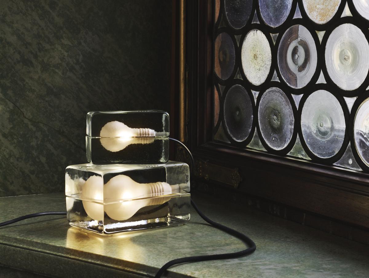 Design House Stockholm Lamp Block Lamp by Design House