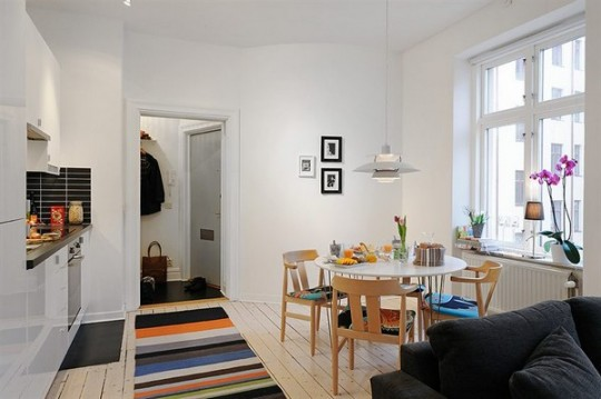 Un peque o apartamento funcional ideas para decorar - Ideas para decorar un apartamento pequeno ...