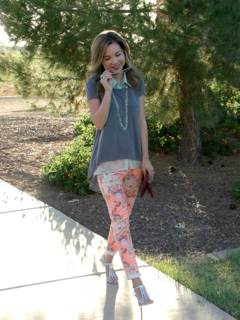 layers and florals