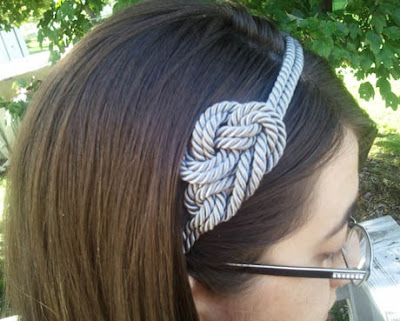 nautical rope headband