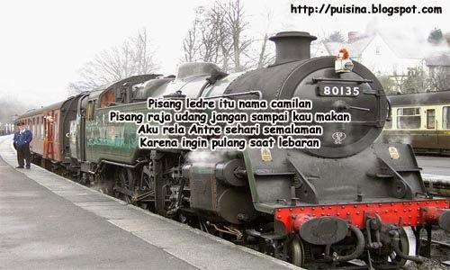Pantun Tiket Kereta Api