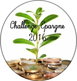 Challenge épargne 2016
