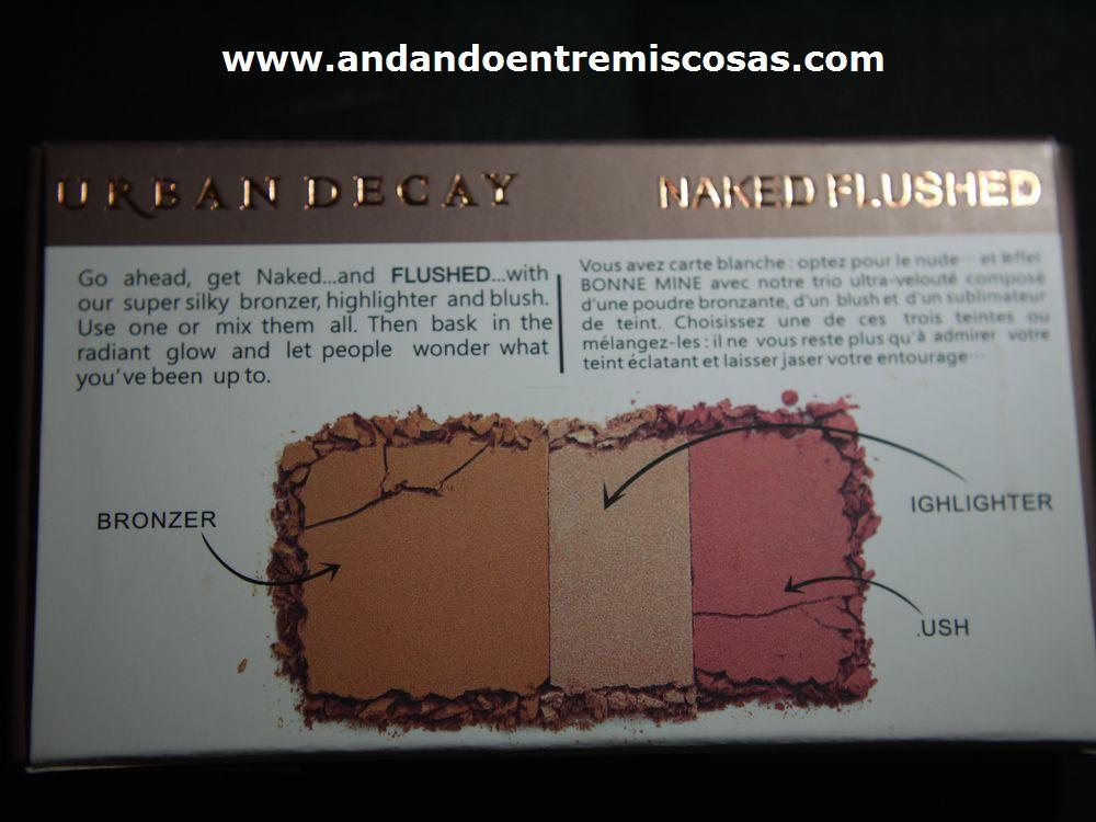 Paleta Flushed (Imitación)