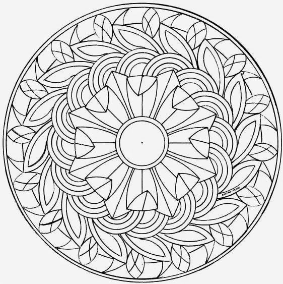 free coloring pages of mandalas - photo#22