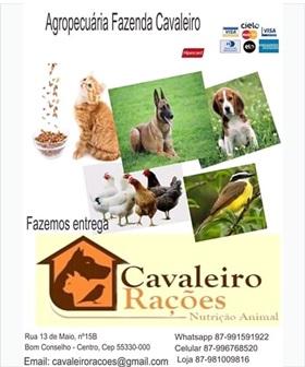 CAVALEIRO RAÇÕES NUTRIÇÃO ANIMAL