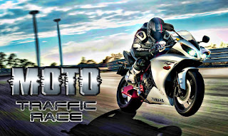 Screenshots of the Moto traffic race for Android tablet, phone.