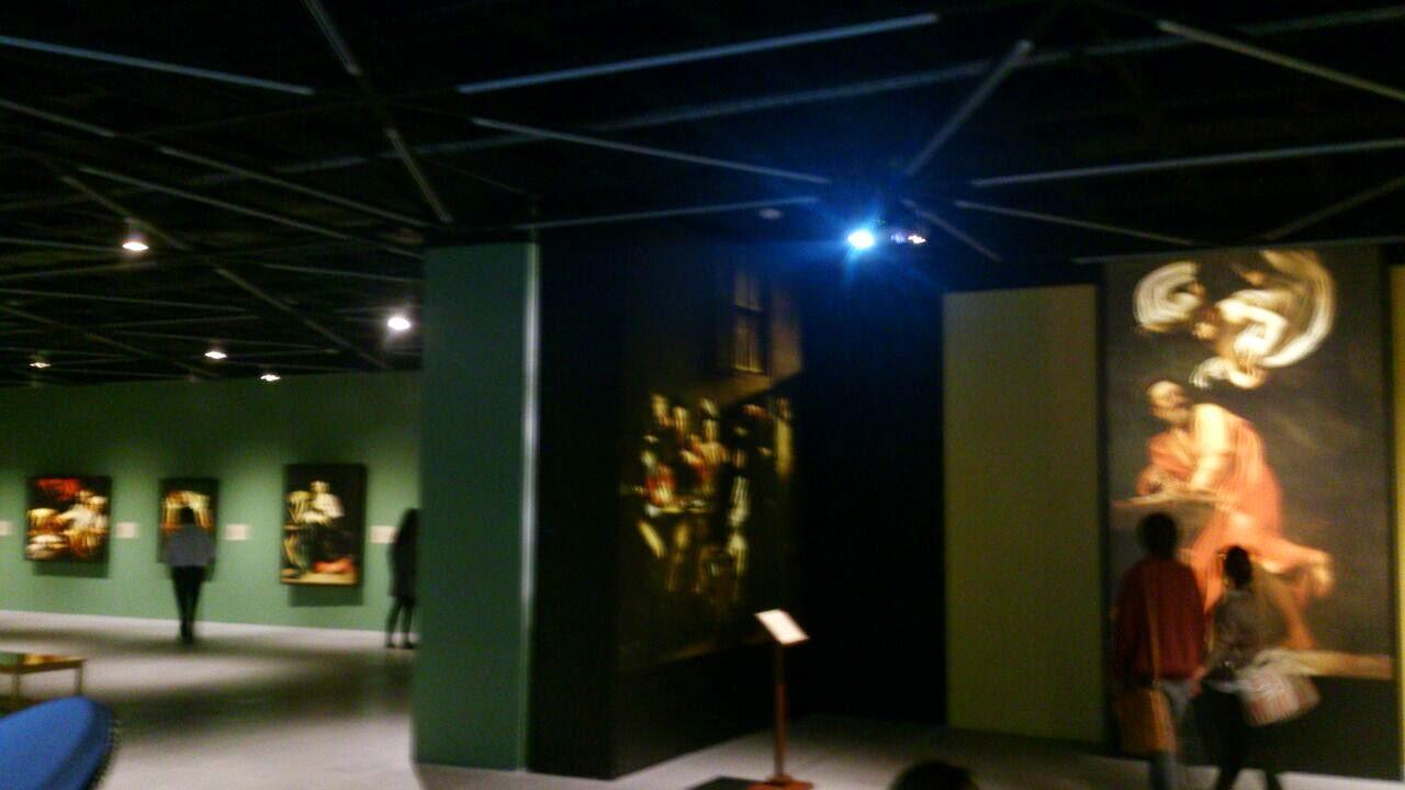 Sala de la exposición CENART