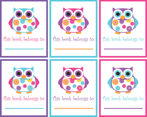 My Owl Barn Friday Freebie Summer Owls