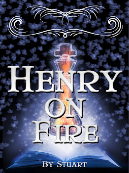 Henry On Fire, Henry and the ShadowMan Band, Henry in stand with Fred Friday