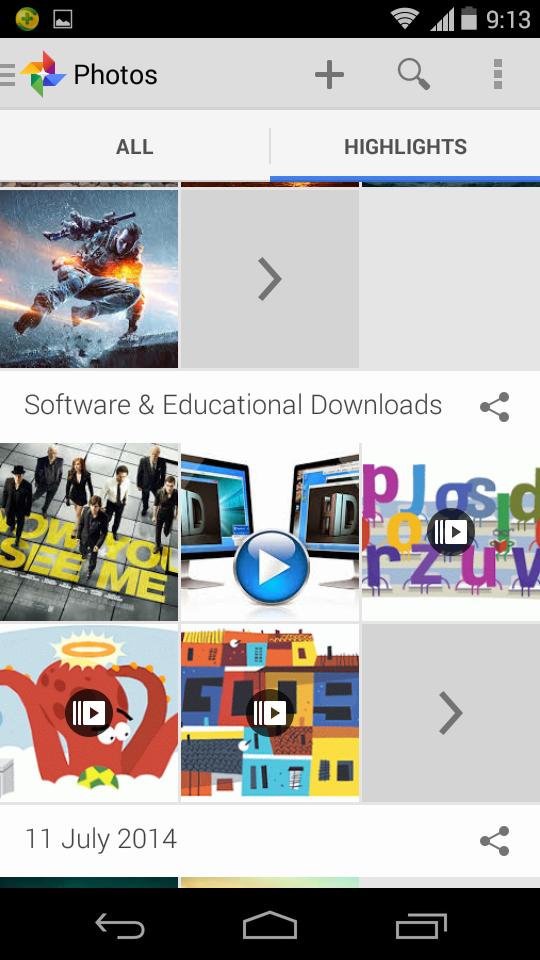 Membuat Backup Otomatis Semua Gambar Ponsel Android Ke Google+