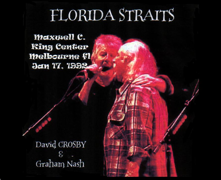 T U B E Crosby And Nash 1992 01 17 Melbourne Fl
