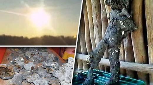 ¿Ha sido descubierto el cadáver de un extraterrestre en el sitio de un impacto de meteorito en México?