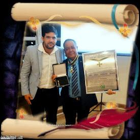 Cerimonia de entrega do Prêmio Águia Americana ao Valter Desiderio Barreto