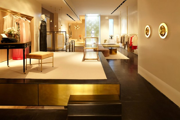 Sarah Cain Design: Chic and Elegant Retail Design
