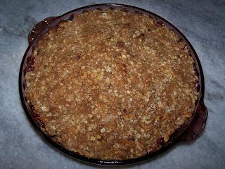 EZ Gluten Free: Apple Cranberry Crumble