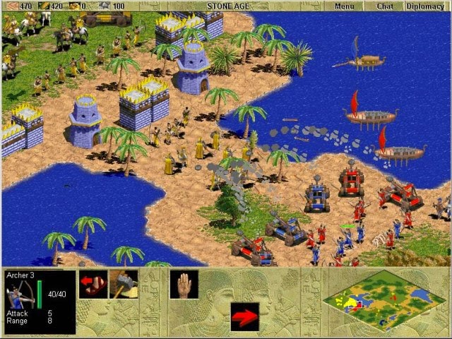 Age of Empires 1 PC Game full