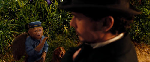 Screen Shot Of Hollywood Movie Oz the Great and Powerful (2013) In English Full Movie Free Download And Watch Online At Downloadingzoo.Com