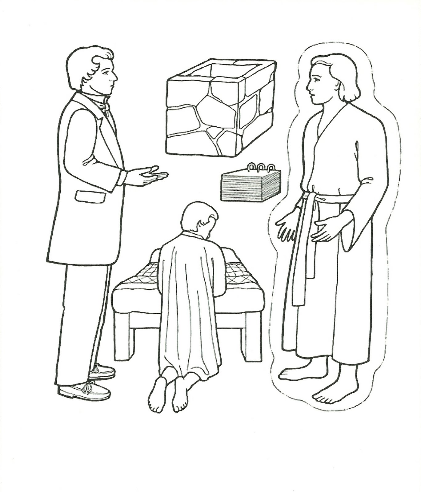 Pioneer life coloring pages lds coloring pages for Lds pioneer coloring pages