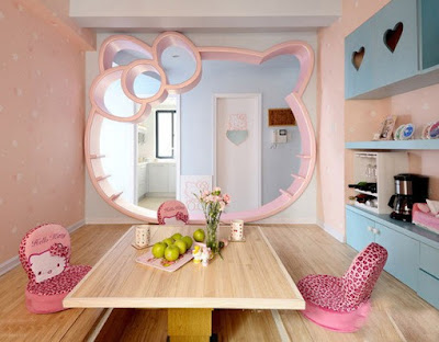 Hello Kitty home pantry room
