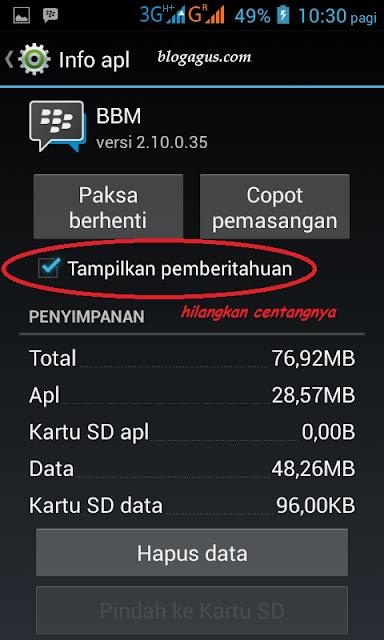 Cara Menghentikan Bunyi Dering BBM ( Blackberry Messenger )