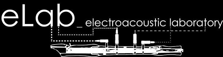 eLab_electroacoustic laboratory