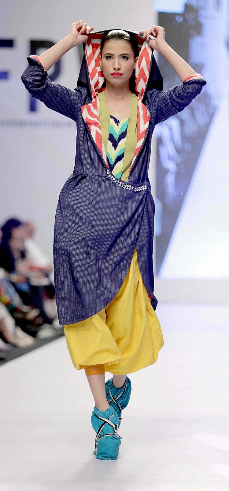 Sakina Lotia - Fashion Pakistani Week Rising Talent Graduate show - FPW 6