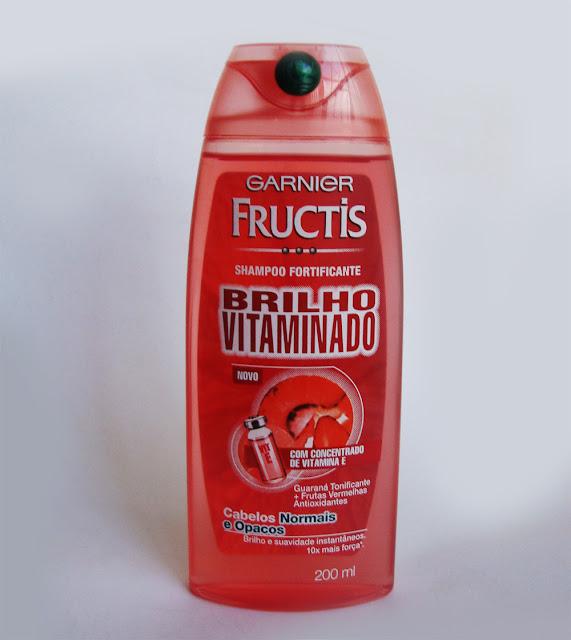 Shampoo Brilho Vitaminado da Garnier Fructis