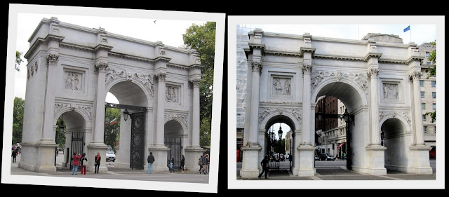 Marble Arch front and rear