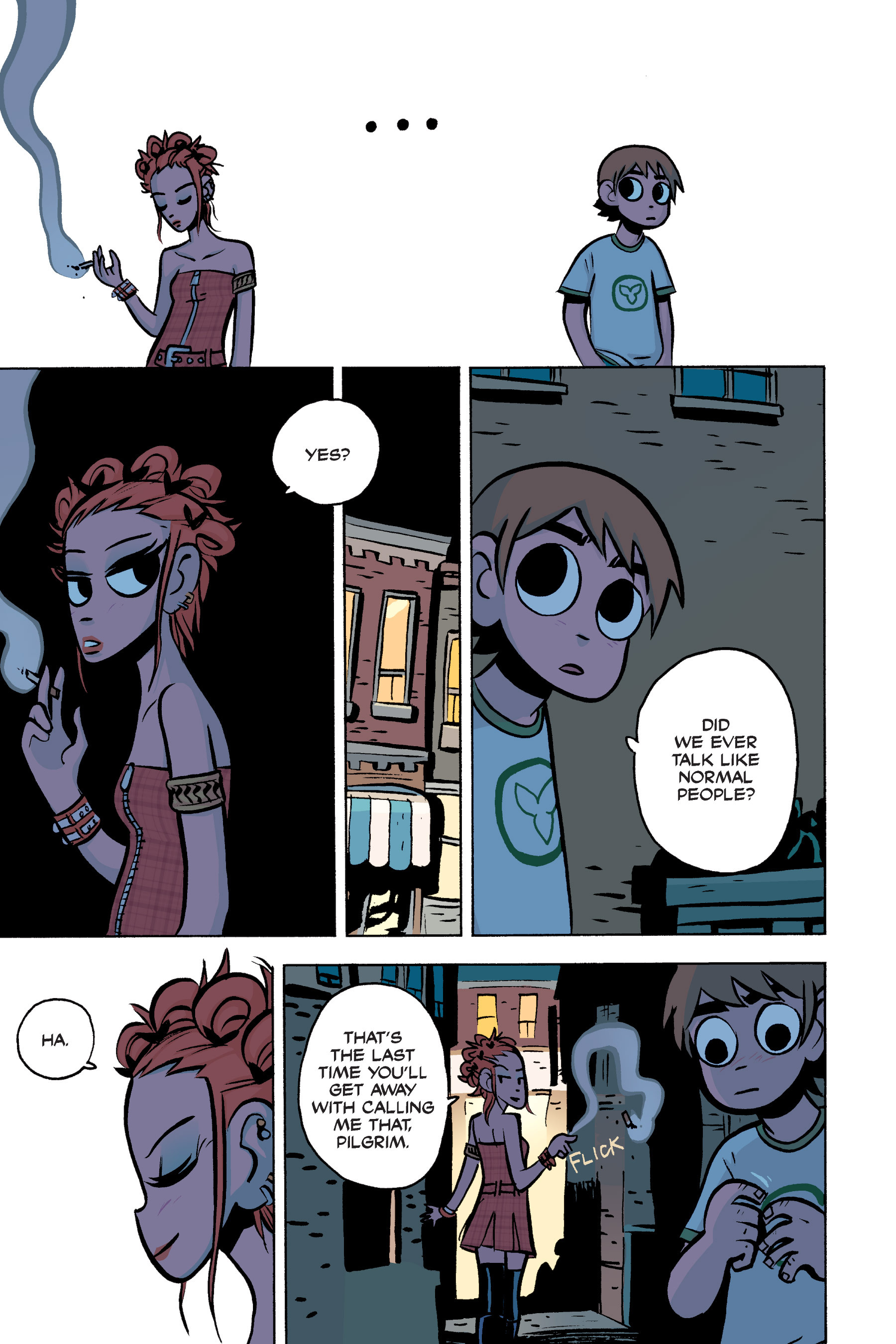 Read online Scott Pilgrim comic -  Issue #3 - 108