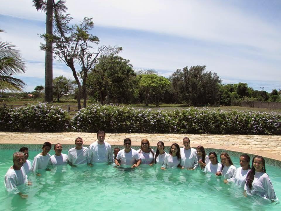 Batismo nas águas 2014: