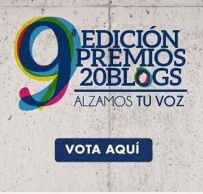 Vótame en los Premios 20Blogs