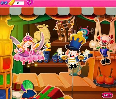 Candy Crush Saga 771-785 ending