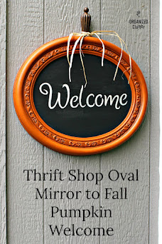 Thrift Shop Mirror Makeover