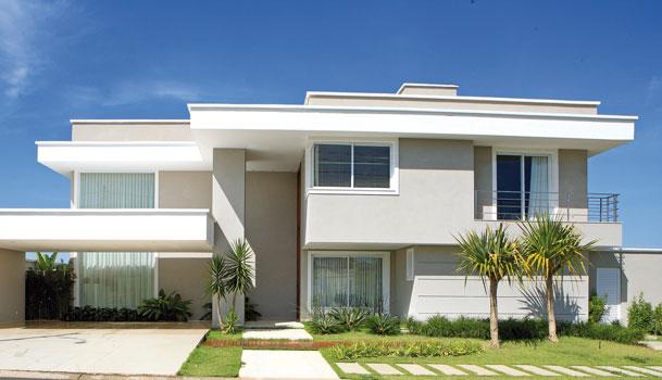 Construindo minha casa clean fachadas com ou sem telhado - Fotos de chalets modernos ...