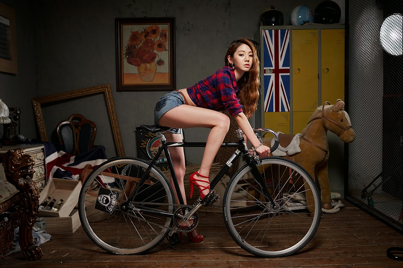 Chae Eun Cyclist Beauty