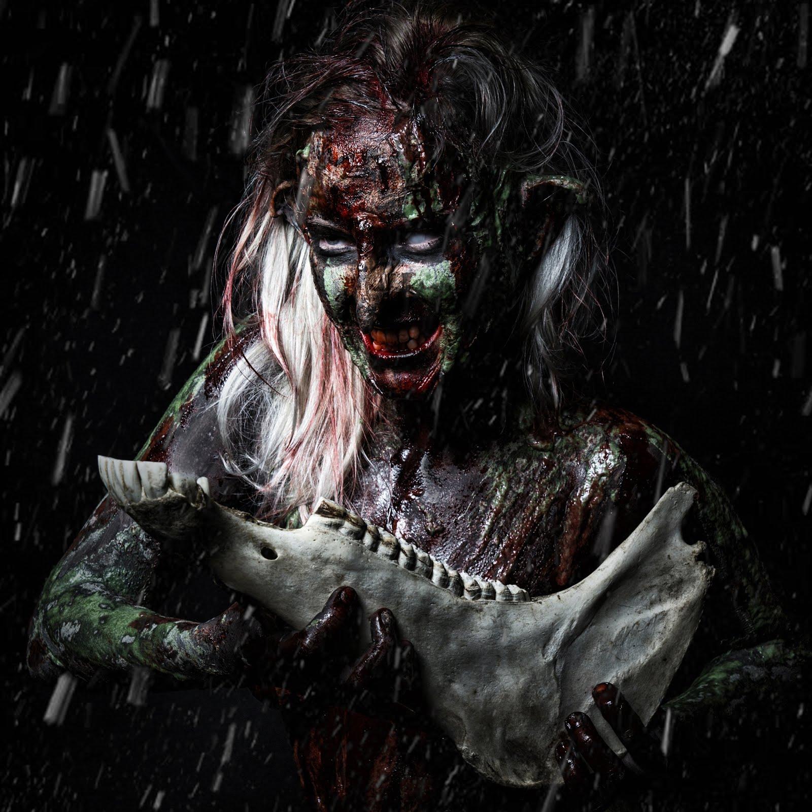 Troll girl. Peikkotyttö. Backwood Madness.