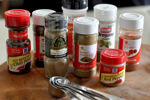 Spices for Homemade Chili Seasoning | Taste As You Go