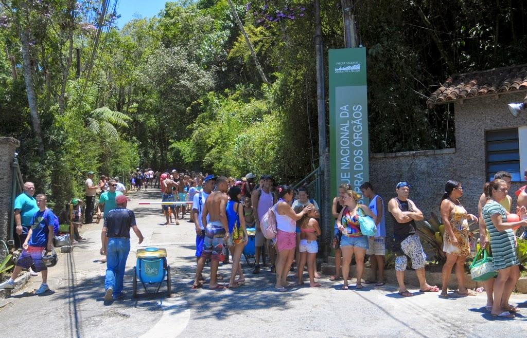 Parque Nacional registra grande movimento no final de semana de sol e calor