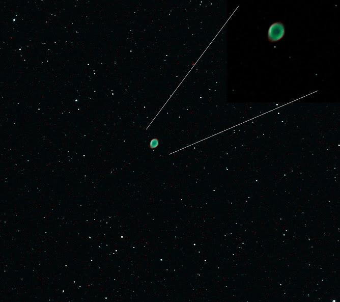 Nebulosa planetaria M57 en Lyra
