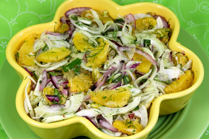 Orange/Fennel Salad and a Little Chef's Birthday Party | The Café ...