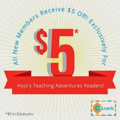 $5 FREE for New Educents Members