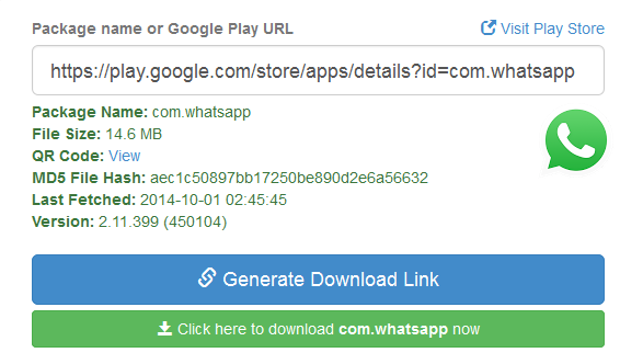 Generate Android APK online without using google play store