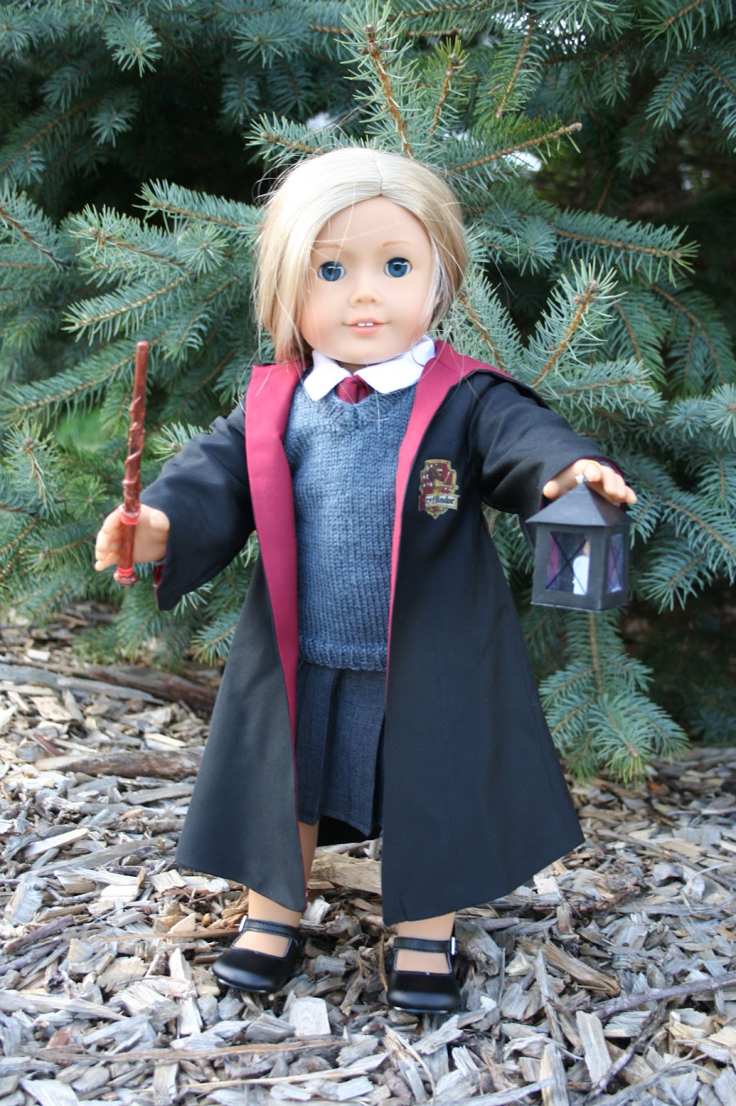Arts and Crafts for your American Girl Doll: Harry Potter Robe for ...
