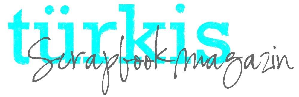 türkis scrapbook magazin