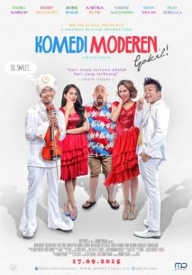 poster film Komedi Moderen Gokil