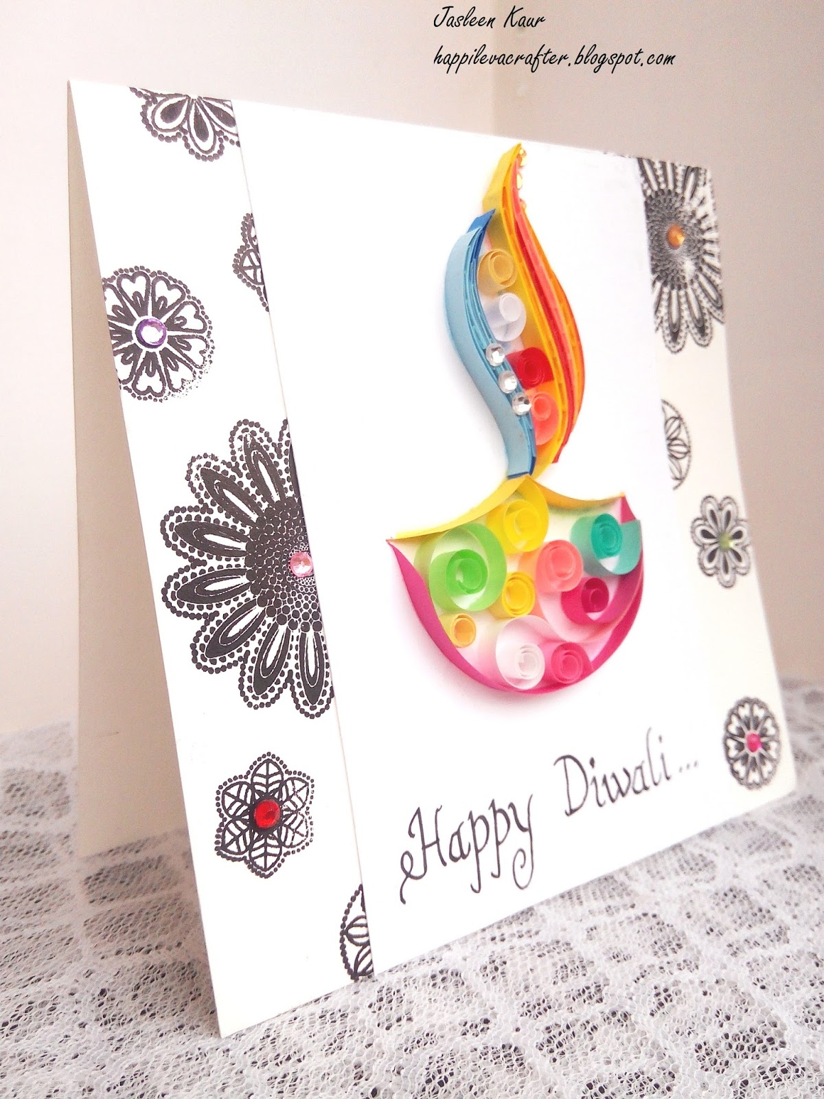 Indian Quilling Challenge Make It Festive Diwali Cards