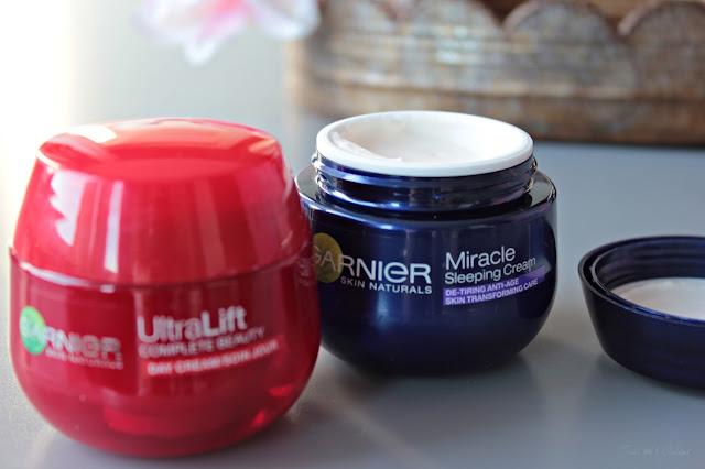 Beauty | xxl Shoppingausbeute - haul, pflege, garnier, miracle sleeping cream, tagespflege, nachtpflege, ultra lift