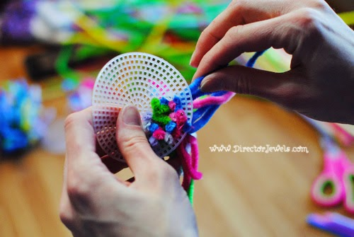 Director Jewels Sea Anemone Pipe Cleaner Craft For Under The Octonauts Bubble