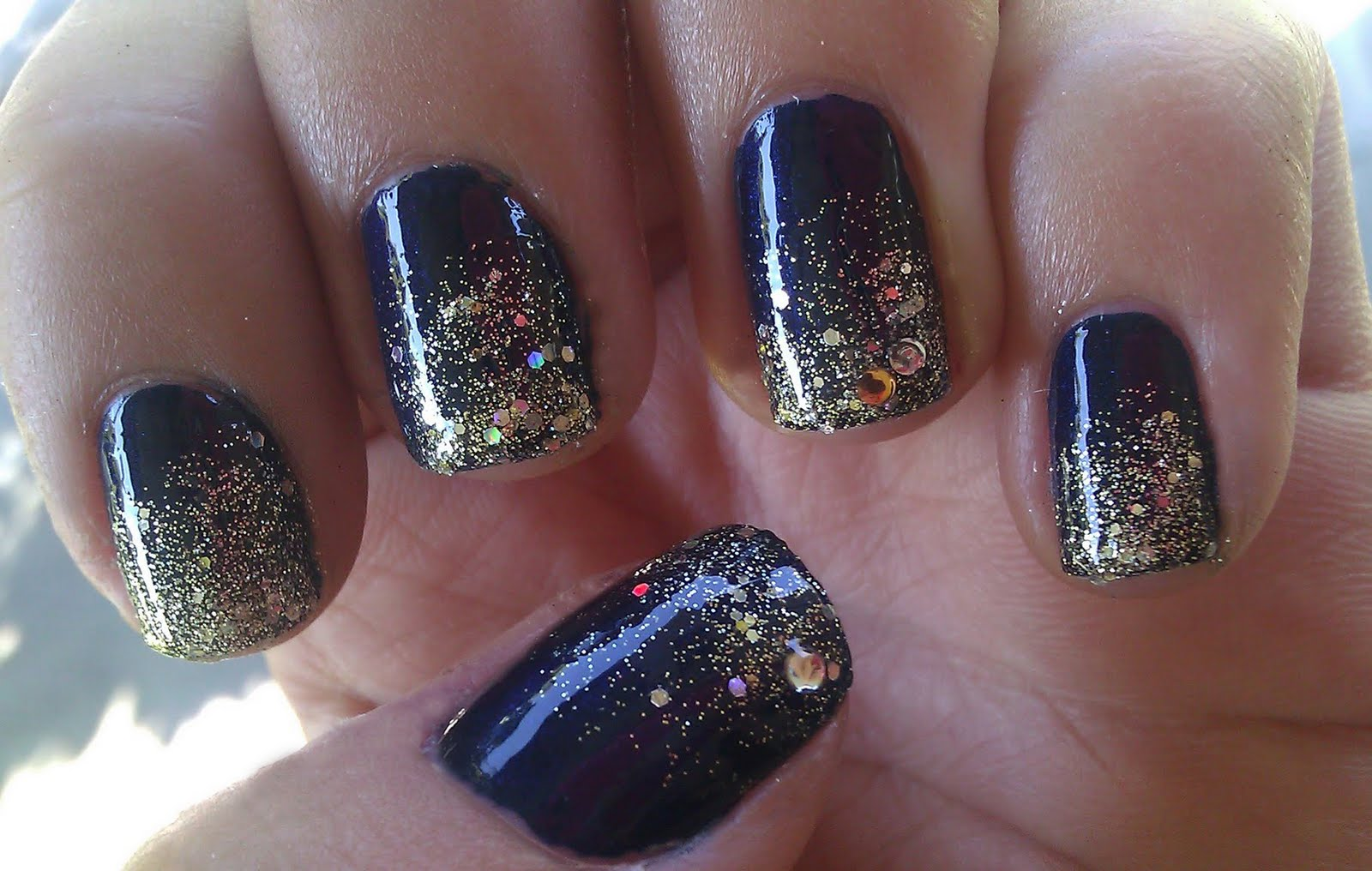 It\'s because I think too much: Galactic Manicure