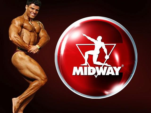 Gustavo Almeida agora faz parte do time de atletas da Midway Labs. Foto: Montagem/SDB